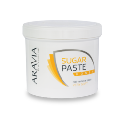 Aravia Professional - Сахарная паста для депиляции Медовая очень мягкой консистенции, 750 г