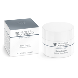 Janssen 2910 Skin Detox Cream - Антиоксидантный детокс-крем, 50 мл