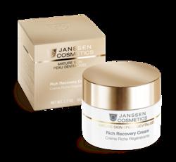 Janssen 1120 Mature Skin Rich Recovery Cream - Обогащенный anti-age регенерирующий крем с комплексом Cellular Regeneration, 50 мл