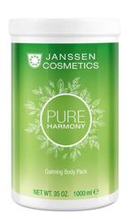 Janssen P-8681P Calming Body Pack - Кремовое обертывание с экстрактом белого чая, 1000 мл