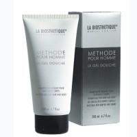 La Biosthetique Skin Care Methode Pour Homme Le Gel Douche - Гель-шампунь для душа с увлажняющим комплексом, 200 мл