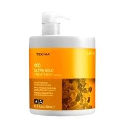Lakme Ultra Gold Treatment - Средство для поддержания оттенка окрашенных волос Золотистый, 1000 мл