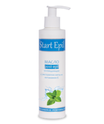 Start Epil - Масло после депиляции охлаждающее с экстрактом мяты и витамином Е, 200 мл