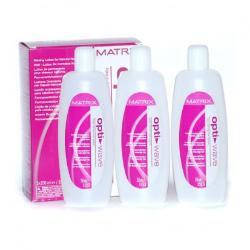 Matrix Opti.Wave Waving Lotion For Natural Hair - Лосьон для завивки натуральных волос 3x250 мл