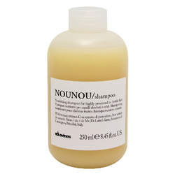 Davines Essential Haircare NouNou Nourishing Illuminating Shampoo - Питательный шампунь для уплотнения волос, 250 мл