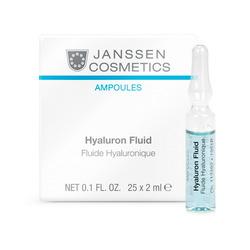 Janssen 1951P Ampoules Hyaluron Fluid - Ультраувлажняющая сыворотка с гиалуроновой кислотой, 25 x 2 мл