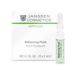 Janssen 1961P Ampoules Balancing Fluid (combination skin) - Балансирующий концентрат для ухода за комбинированной кожей, 25 x 2 мл