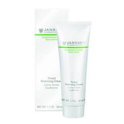 Janssen 6611 Combination Skin Tinted Balancing Cream - Балансирующий крем с тонирующим эффектом, 50 мл