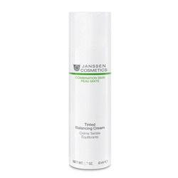 Janssen 6611P Combination Skin Tinted Balancing Cream - Балансирующий крем с тонирующим эффектом, 100 мл