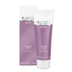 Janssen 7210 Body Hand Care Cream - Увлажняющий восстанавливающий крем для рук, 75 мл