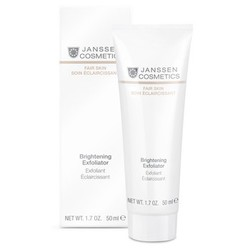 Janssen 3307 Fair Skin Brightening Exfoliator - Пилинг-крем для выравнивания цвета лица, 50 мл