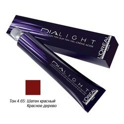 L'Oreal Professionnel Dialight - Краска для волос Диалайт 4.65 Шатен красный красное дерево 50 мл