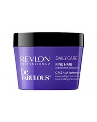 Revlon Be Fabulous Daily Care Fine Hair Lightweight Mask - Очищающая маска для тонких волос, 200 мл