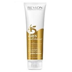 Revlon Professional Shampoo&Conditioner Golden Blondes - Шампунь-кондиционер для золотистых блондированных оттенков 275 мл