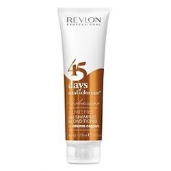 Revlon Professional Shampoo&Conditioner Intense Coppers - Шампунь-кондиционер для медных оттенков 275 мл