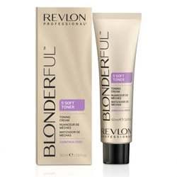 Revlon Professional BLONDERFUL SOFT TONER 9.01 - 5-минутный тонирующий крем без аммиака, 50 мл