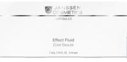 Janssen 1900 Ampoules Eye Flash Fluid - Увлажняющая и восстанавливающая сыворотка в ампулах для контура глаз, 7 x 2 мл