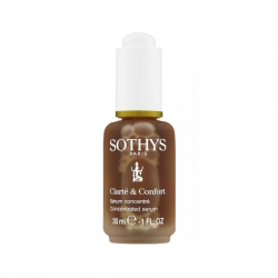 Sothys Clarte & Comfort Concentrated Serum - Концентрированная сыворотка для укрепления и защиты сосудов, 30 мл