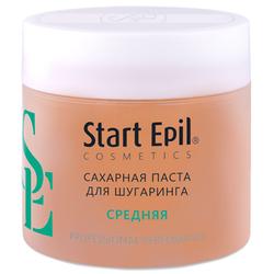 Start Epil - Сахарная паста для депиляции Средняя, 400 гр