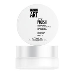 L'Oreal Professionnel Tecni.Art Fix Polish - Гель-воск для блеска и фиксации волос, 75 мл